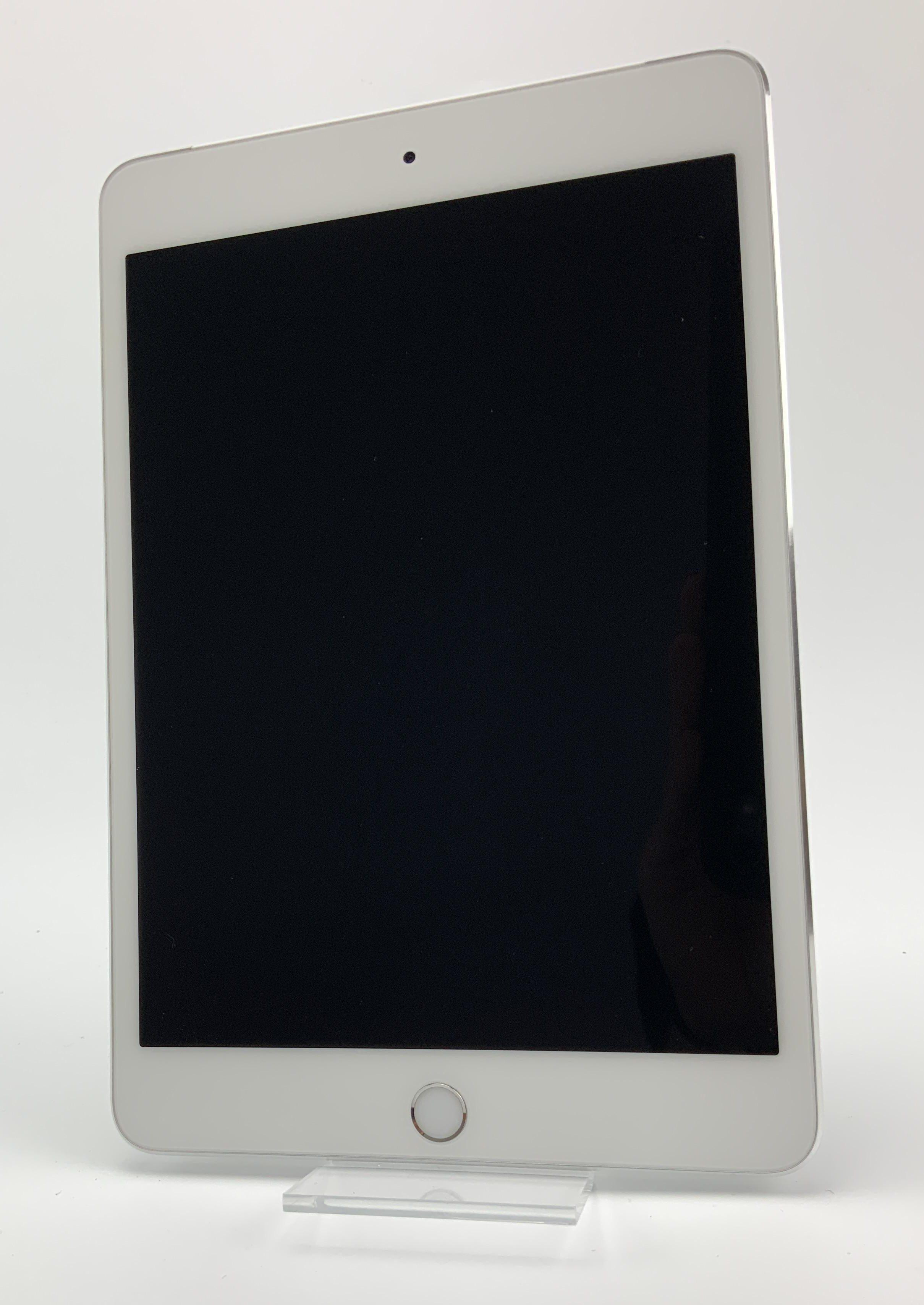 iPad mini 4 Wi-Fi + Cellular 128GB, 128GB, Silver, Kuva 1