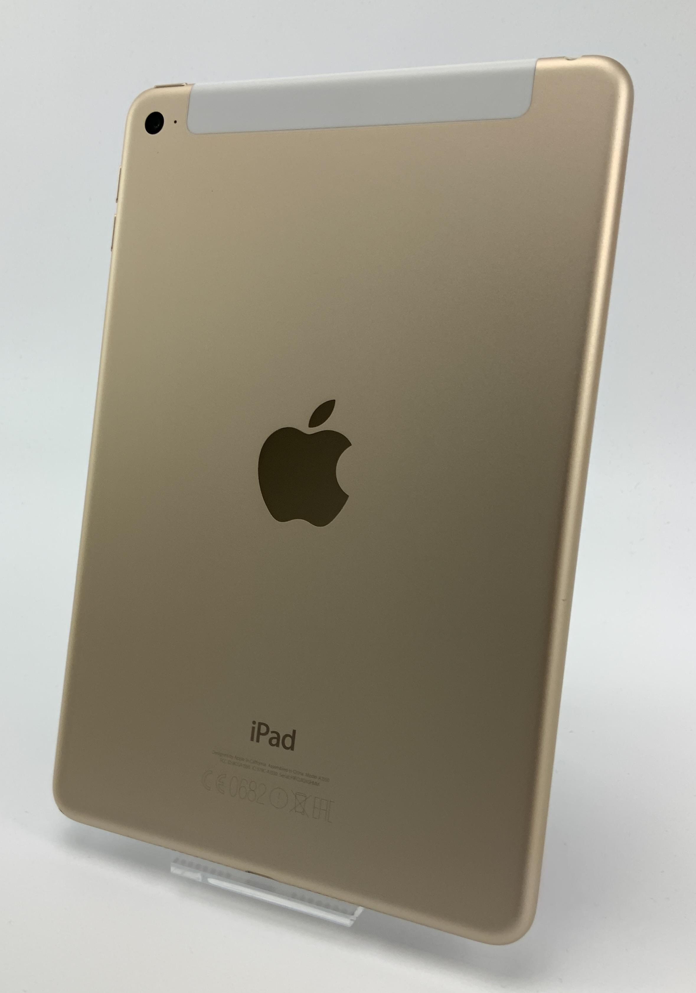 iPad mini 4 Wi-Fi + Cellular 64GB, 64GB, Gold, Kuva 2