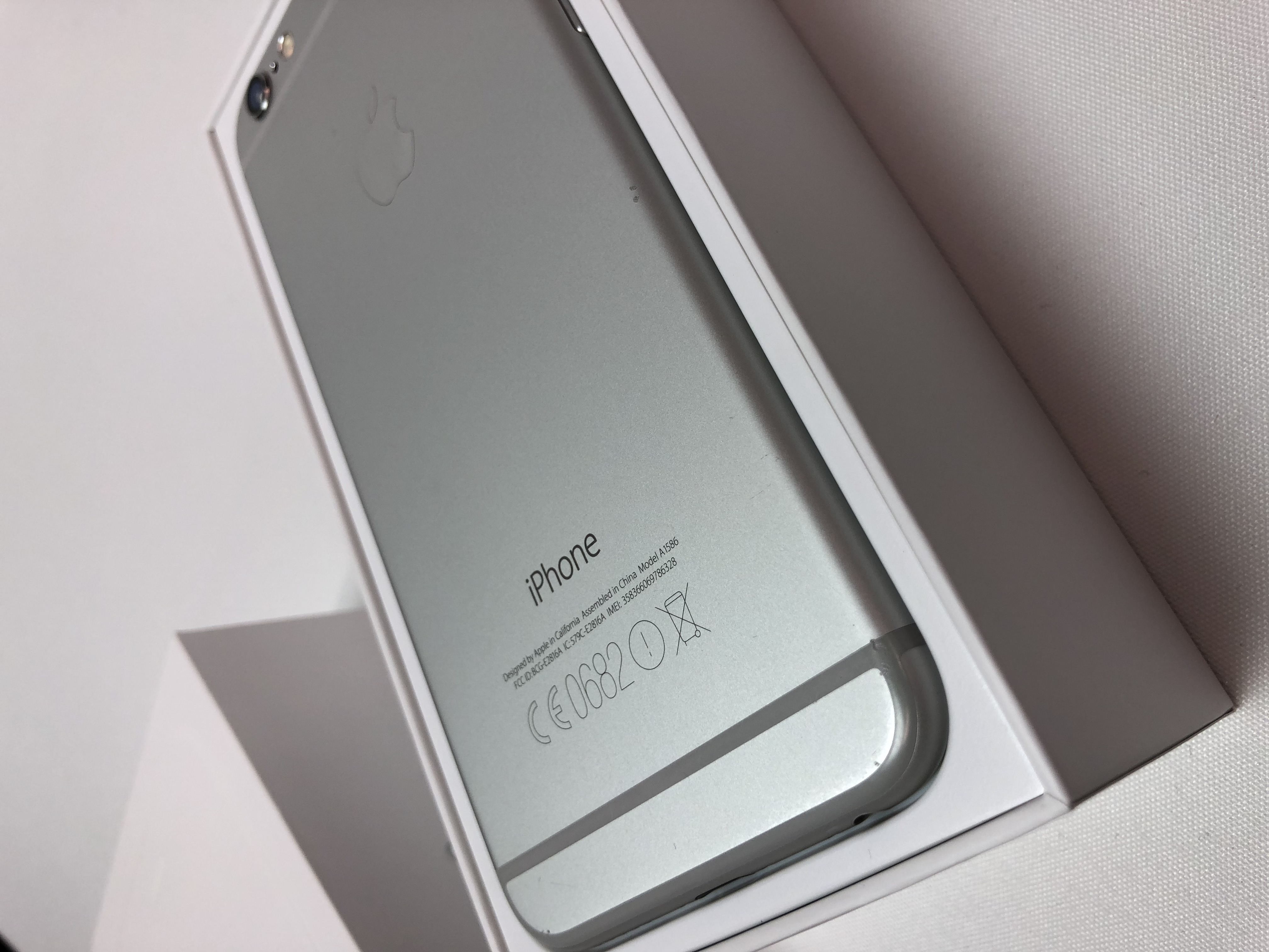 iPhone 6 16GB, 16 GB, Silver, Kuva 2