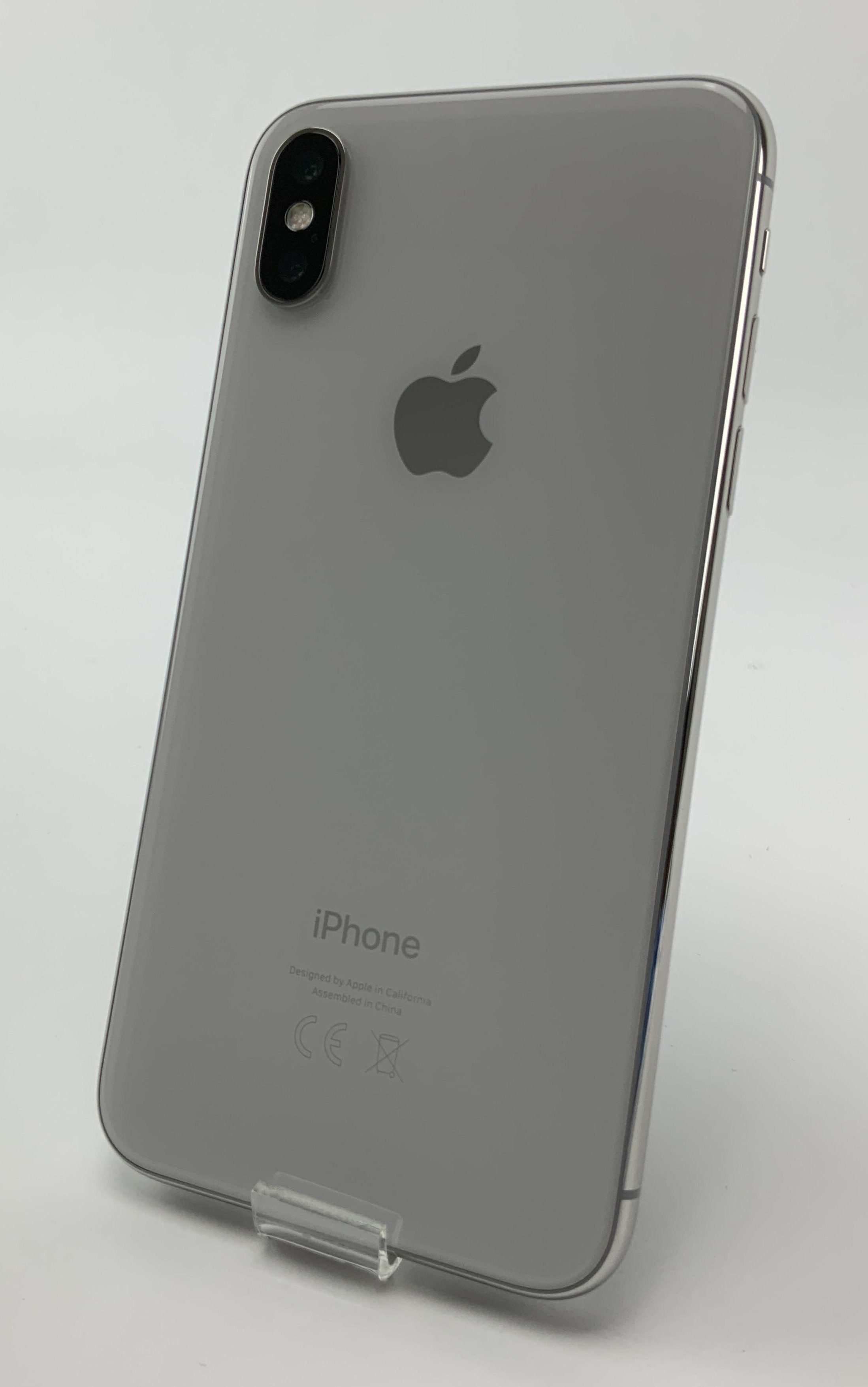 iPhone X 64GB, 64GB, Silver, obraz 2