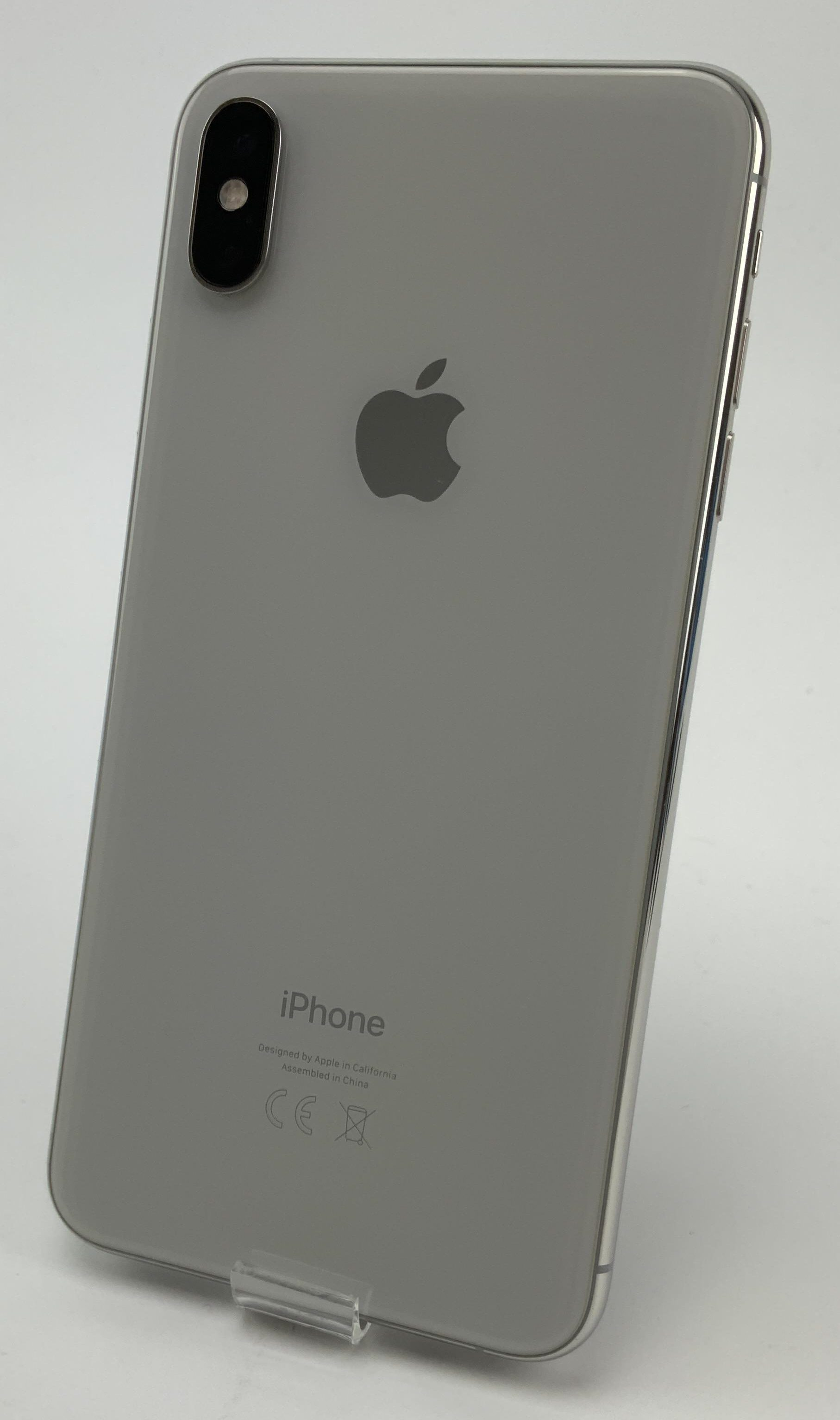 iPhone XS Max 64GB, 64GB, Silver, bild 2