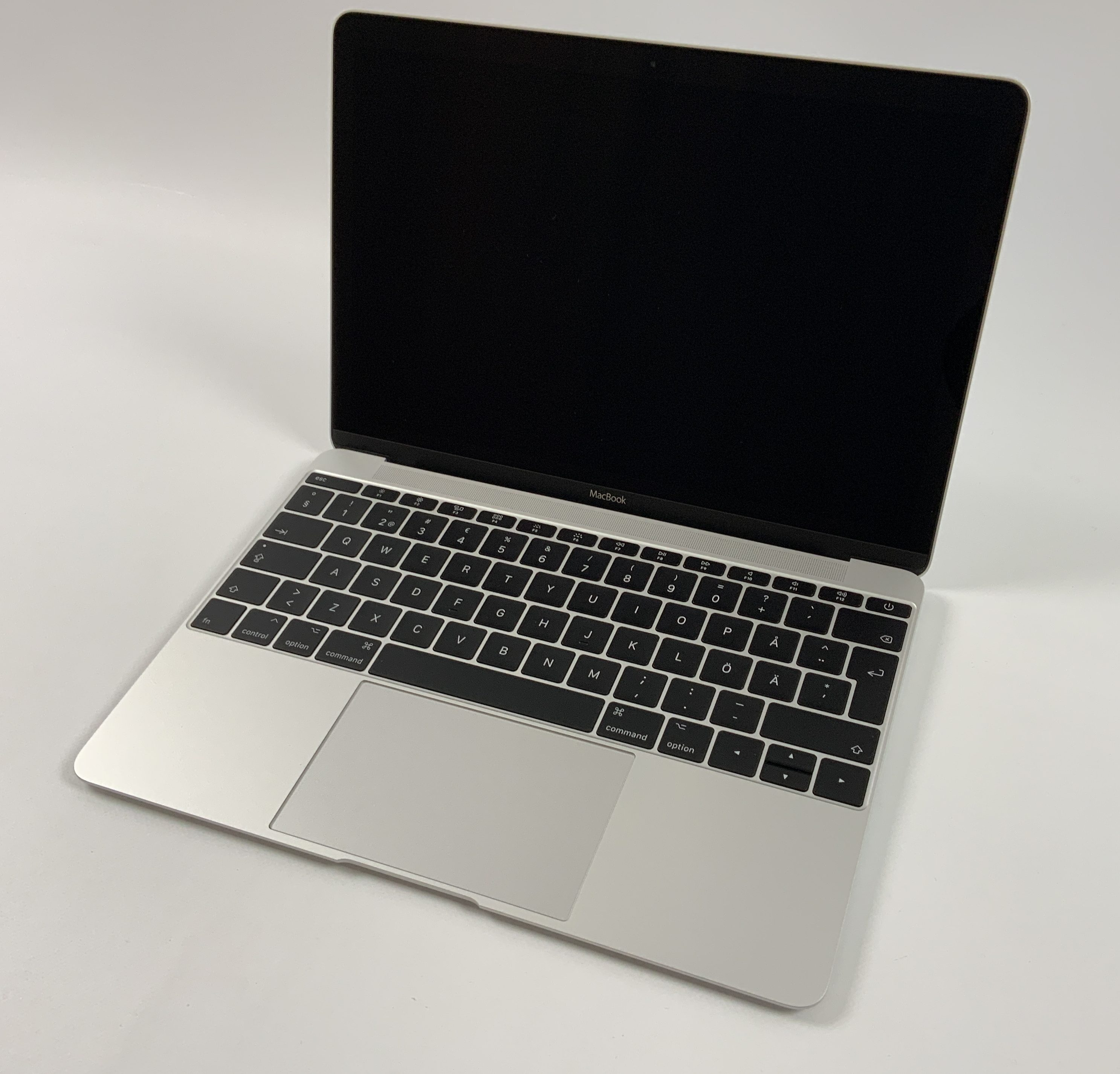 "MacBook 12"" Mid 2017 (Intel Core m3 1.2 GHz 8 GB RAM 256 GB SSD), Silver, Intel Core m3 1.2 GHz, 8 GB RAM, 256 GB SSD, Kuva 1"