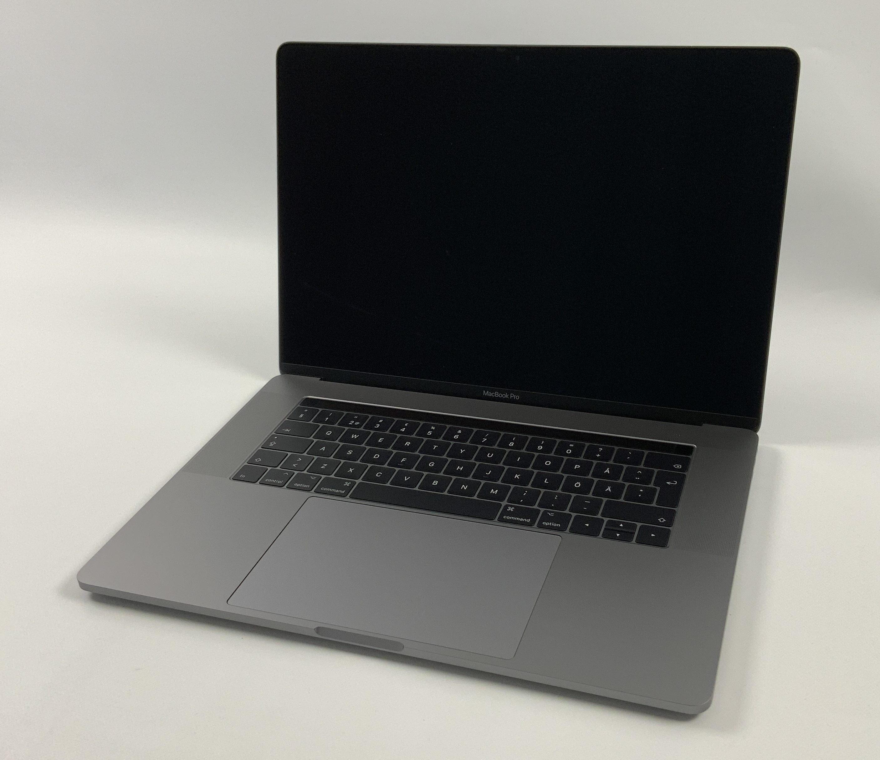 "MacBook Pro 15"" Touch Bar Late 2016 (Intel Quad-Core i7 2.6 GHz 16 GB RAM 1 TB SSD), Space Gray, Intel Quad-Core i7 2.6 GHz, 16 GB RAM, 1 TB SSD, image 1"