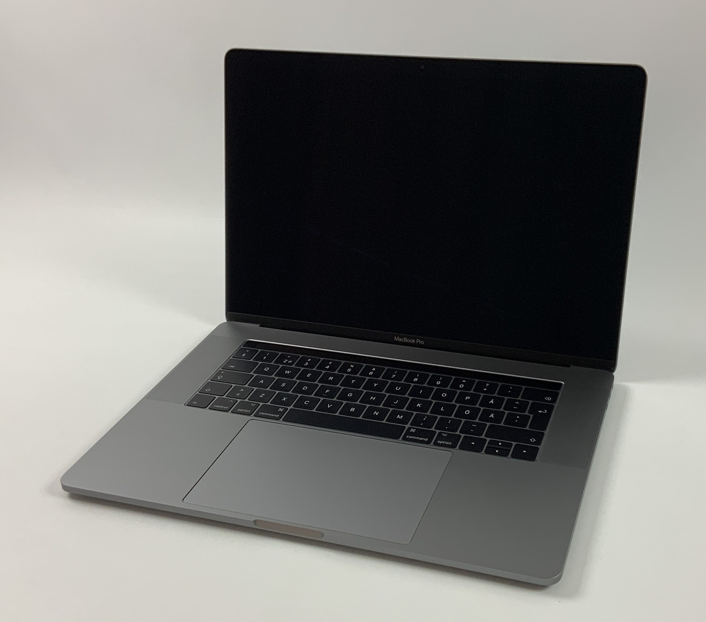 "MacBook Pro 15"" Touch Bar Late 2016 (Intel Quad-Core i7 2.6 GHz 16 GB RAM 256 GB SSD), Space Gray, Intel Quad-Core i7 2.6 GHz, 16 GB RAM, 256 GB SSD, obraz 1"
