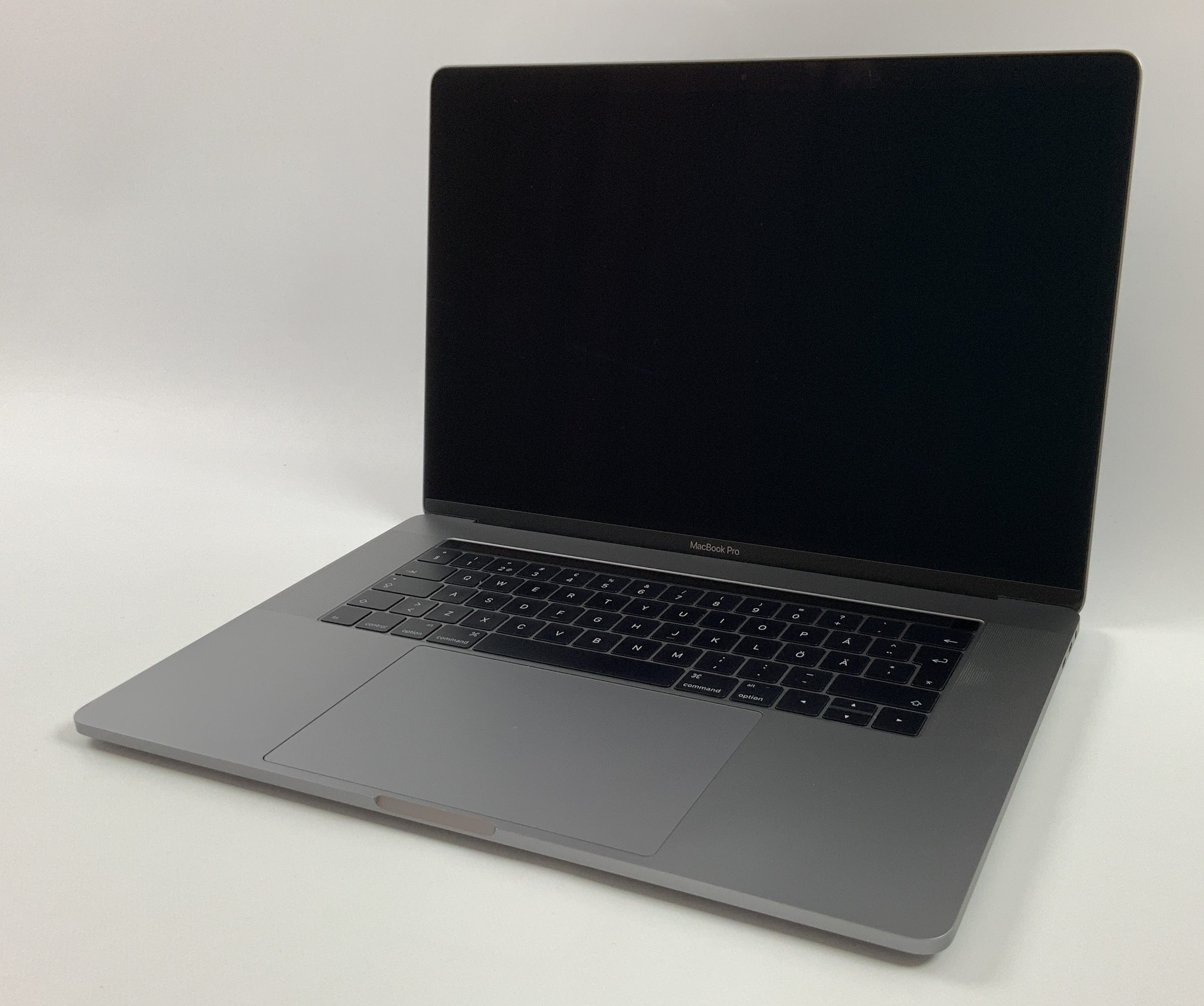 "MacBook Pro 15"" Touch Bar Late 2016 (Intel Quad-Core i7 2.6 GHz 16 GB RAM 256 GB SSD), Space Gray, Intel Quad-Core i7 2.6 GHz, 16 GB RAM, 256 GB SSD, Afbeelding 1"