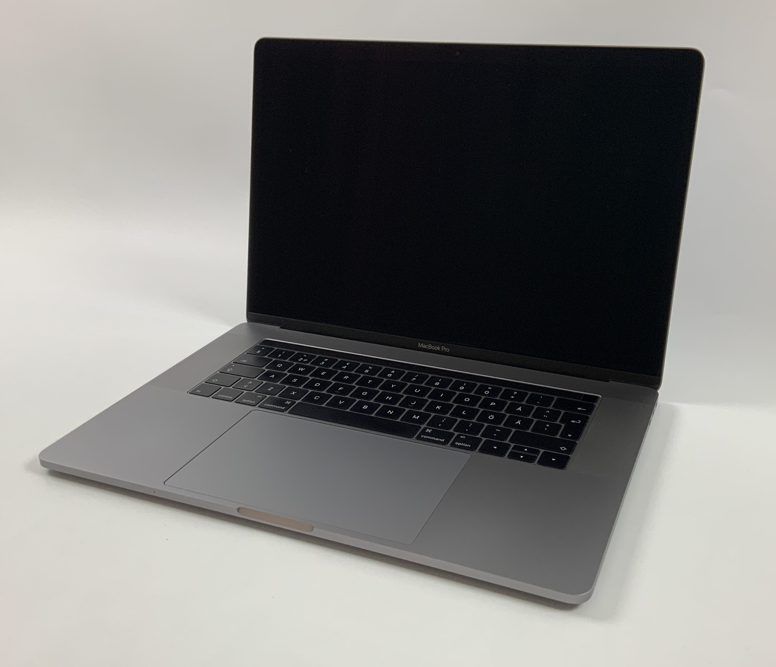 "MacBook Pro 15"" Touch Bar Late 2016 (Intel Quad-Core i7 2.6 GHz 16 GB RAM 512 GB SSD), Space Gray, Intel Quad-Core i7 2.6 GHz, 16 GB RAM, 512 GB SSD, Bild 1"