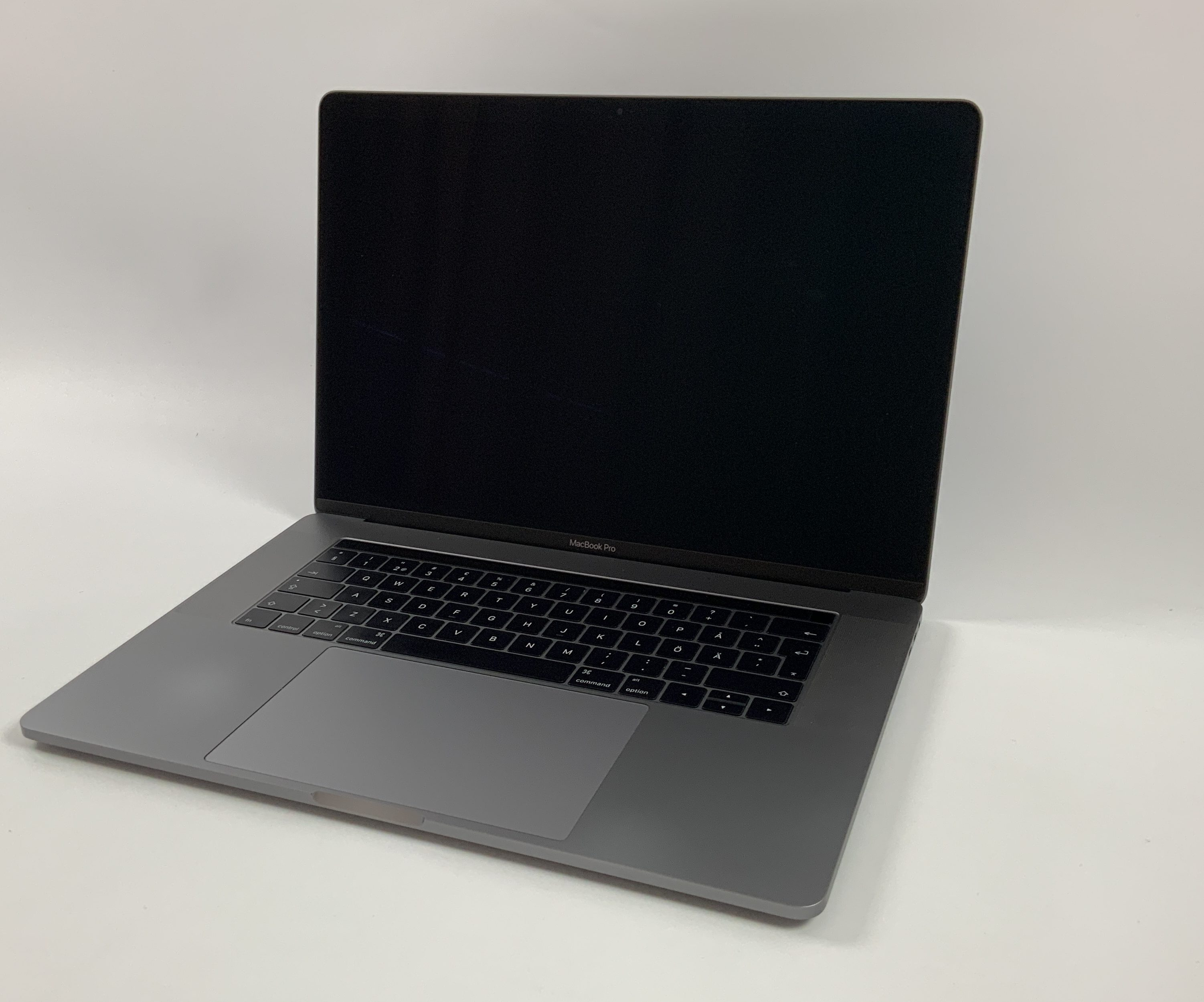 "MacBook Pro 15"" Touch Bar Late 2016 (Intel Quad-Core i7 2.6 GHz 16 GB RAM 512 GB SSD), Space Gray, Intel Quad-Core i7 2.6 GHz, 16 GB RAM, 512 GB SSD, Afbeelding 1"