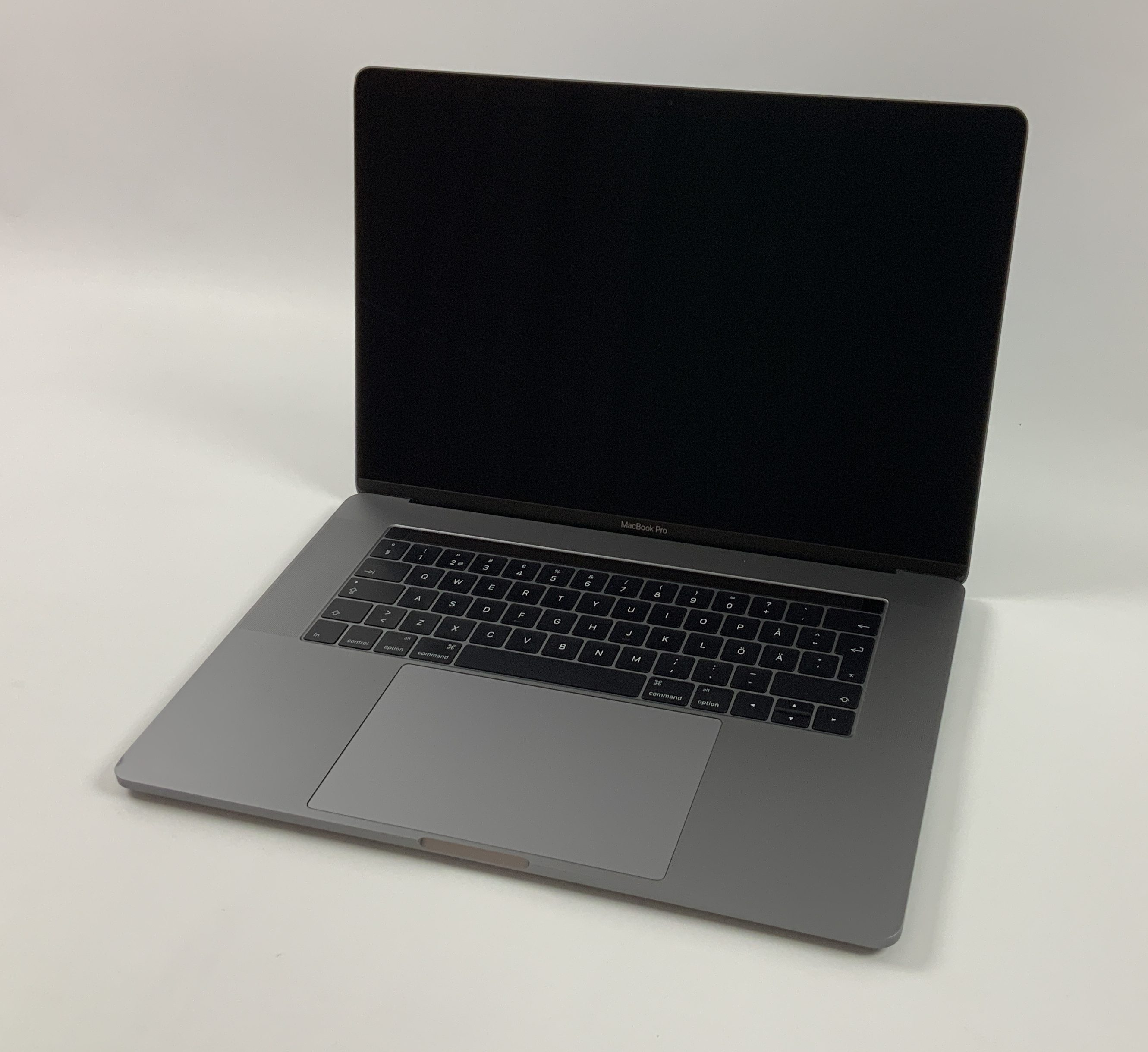 "MacBook Pro 15"" Touch Bar Late 2016 (Intel Quad-Core i7 2.6 GHz 16 GB RAM 512 GB SSD), Space Gray, Intel Quad-Core i7 2.6 GHz, 16 GB RAM, 512 GB SSD, Kuva 1"