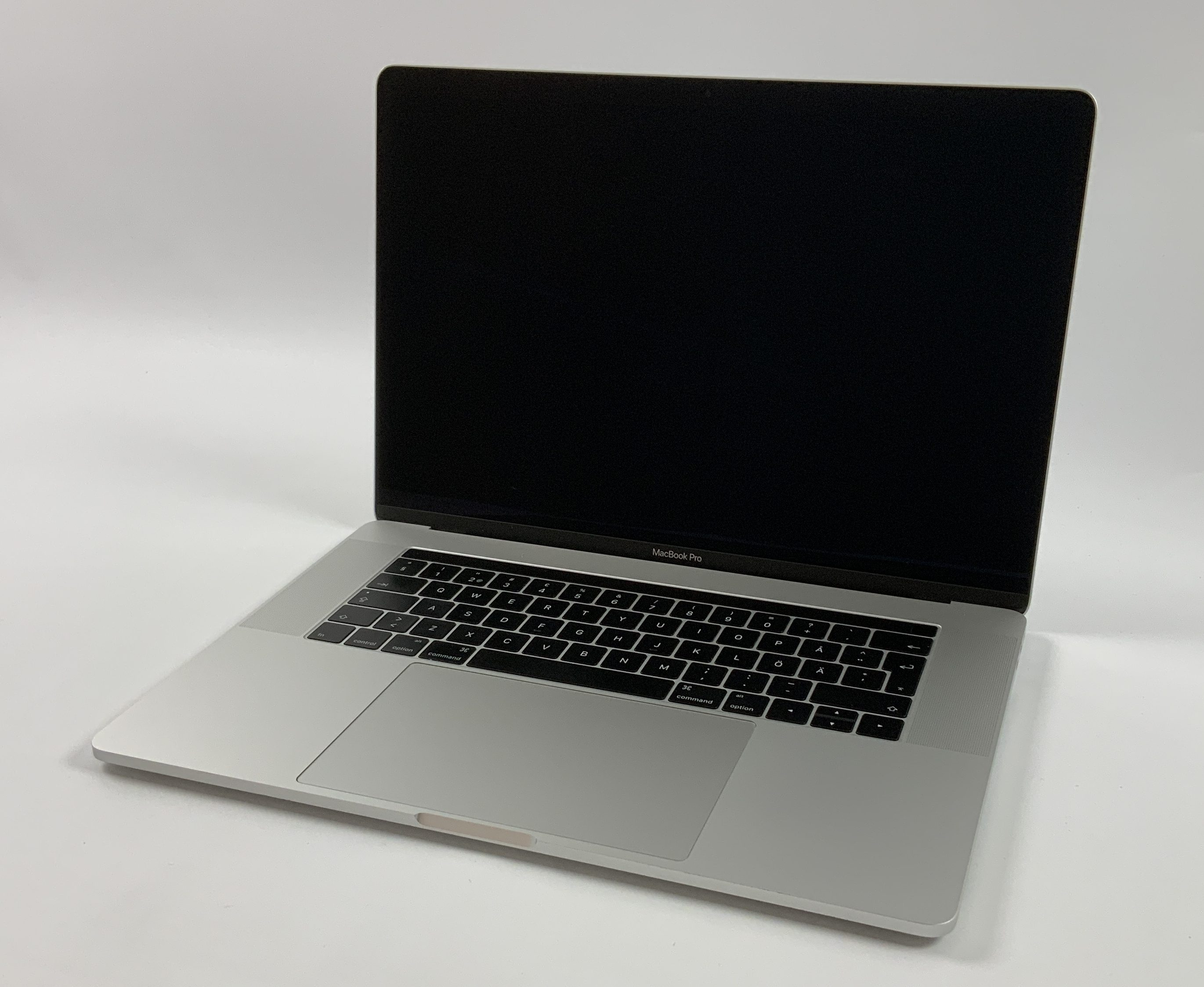 "MacBook Pro 15"" Touch Bar Late 2016 (Intel Quad-Core i7 2.7 GHz 16 GB RAM 512 GB SSD), Silver, Intel Quad-Core i7 2.7 GHz, 16 GB RAM, 512 GB SSD, immagine 1"