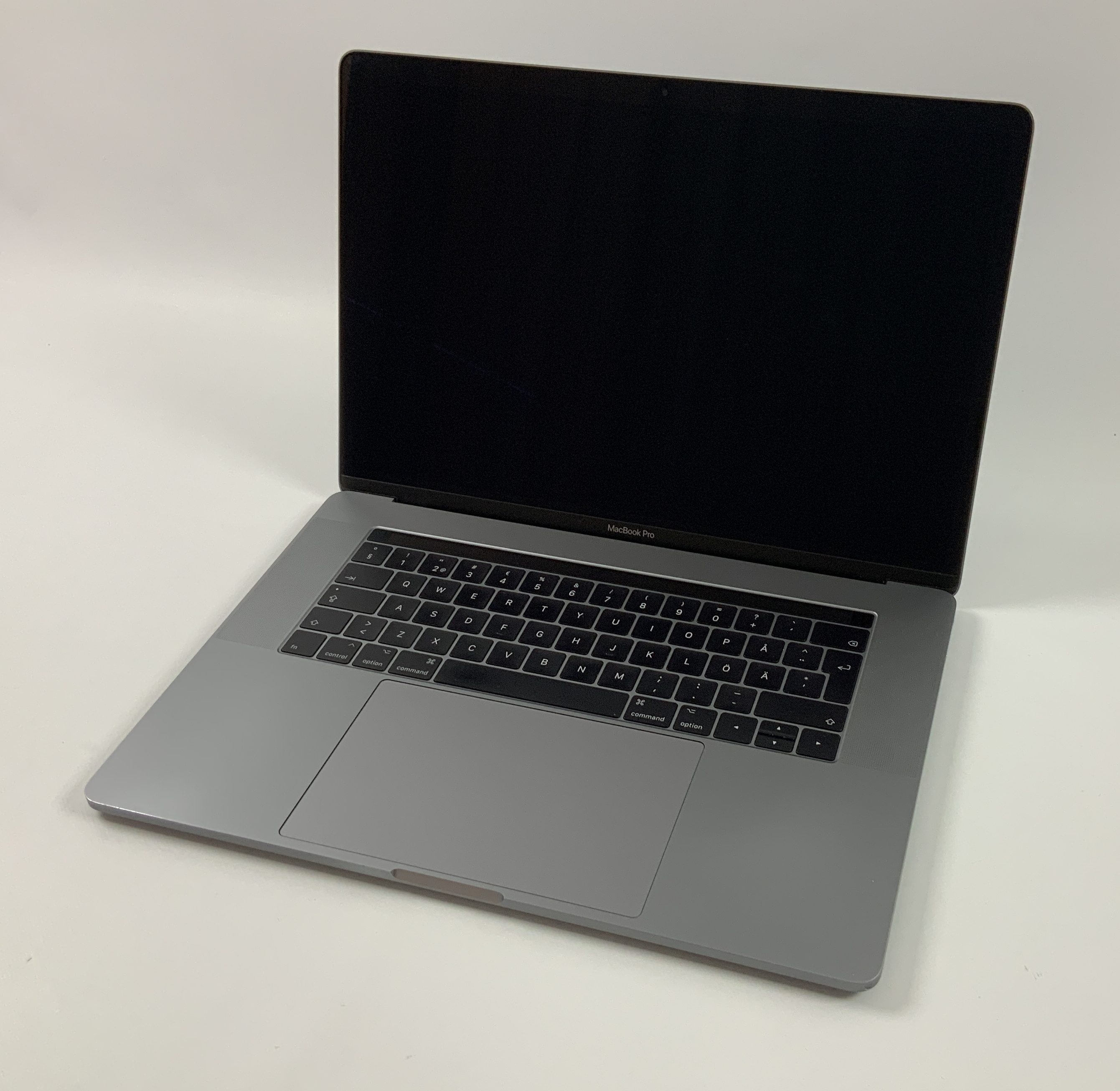 "MacBook Pro 15"" Touch Bar Mid 2017 (Intel Quad-Core i7 2.9 GHz 16 GB RAM 512 GB SSD), Space Gray, Intel Quad-Core i7 2.9 GHz, 16 GB RAM, 512 GB SSD, Afbeelding 1"