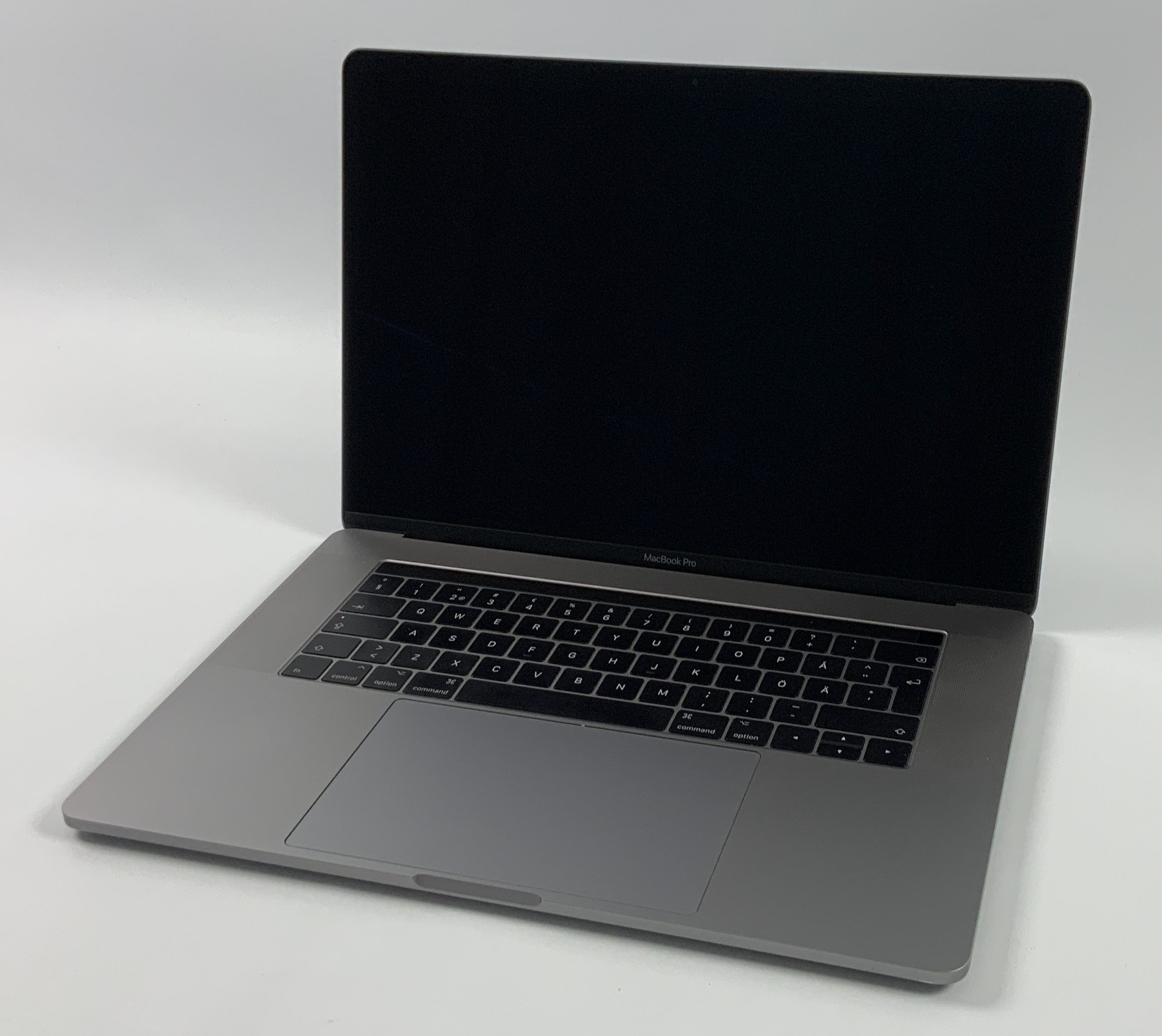 "MacBook Pro 15"" Touch Bar Mid 2017 (Intel Quad-Core i7 2.9 GHz 16 GB RAM 512 GB SSD), Space Gray, Intel Quad-Core i7 2.9 GHz, 16 GB RAM, 512 GB SSD, obraz 1"