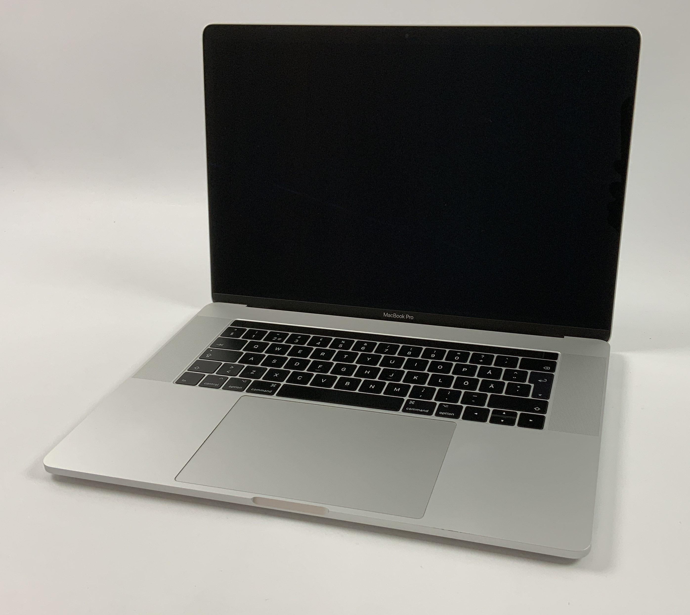 "MacBook Pro 15"" Touch Bar Mid 2017 (Intel Quad-Core i7 2.9 GHz 16 GB RAM 512 GB SSD), Silver, Intel Quad-Core i7 2.9 GHz, 16 GB RAM, 512 GB SSD, Afbeelding 1"