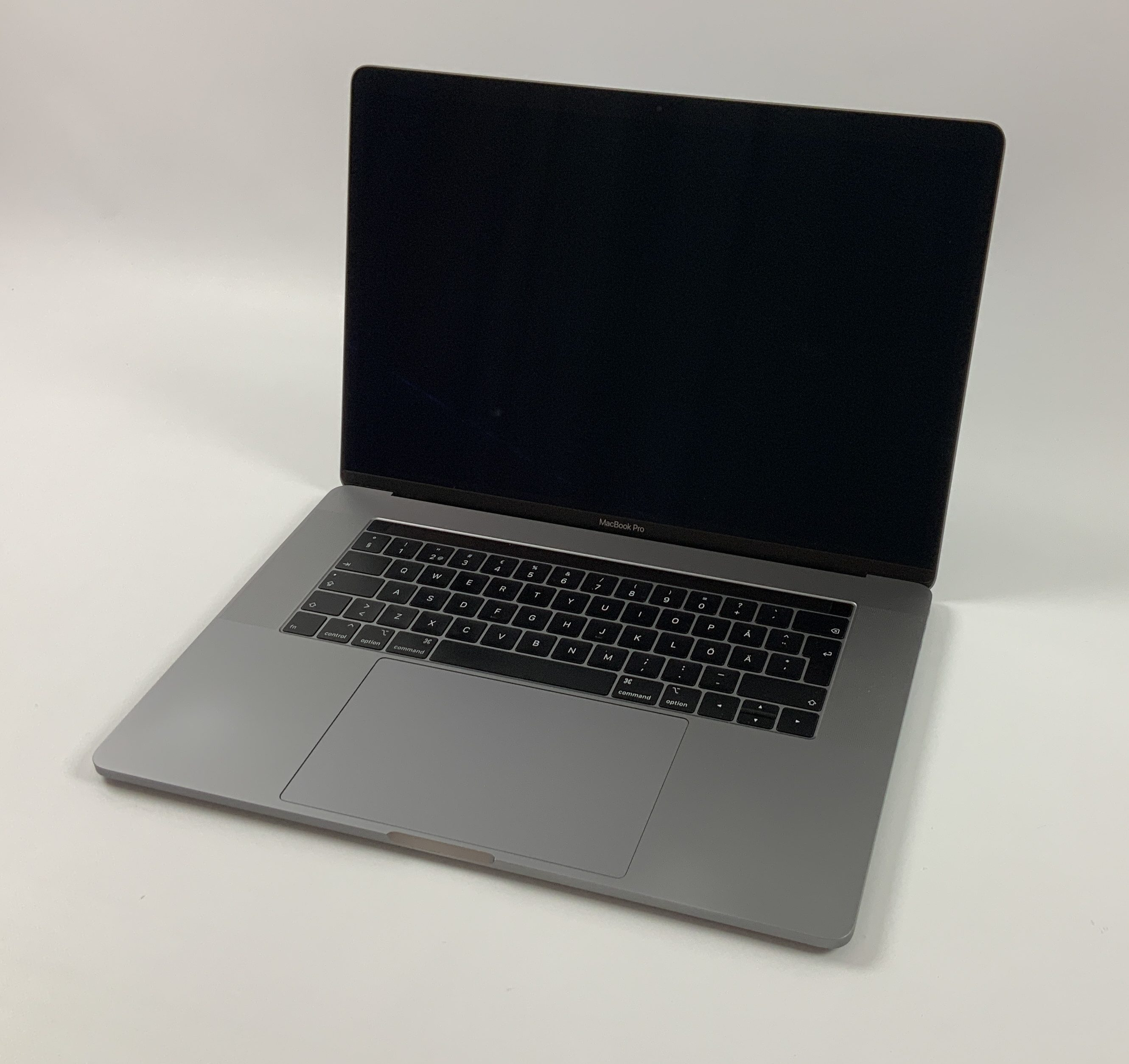 "MacBook Pro 15"" Touch Bar Mid 2018 (Intel 6-Core i7 2.2 GHz 16 GB RAM 256 GB SSD), Space Gray, Intel 6-Core i7 2.2 GHz, 16 GB RAM, 256 GB SSD, immagine 1"