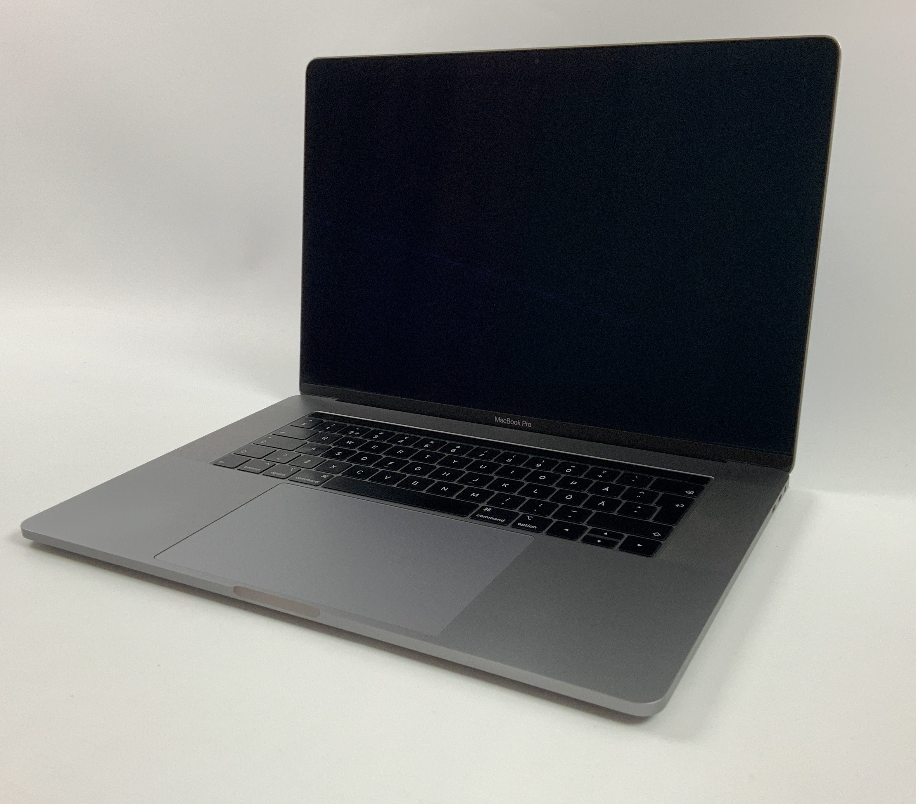 "MacBook Pro 15"" Touch Bar Mid 2018 (Intel 6-Core i7 2.2 GHz 16 GB RAM 512 GB SSD), Space Gray, Intel 6-Core i7 2.2 GHz, 16 GB RAM, 512 GB SSD, immagine 1"