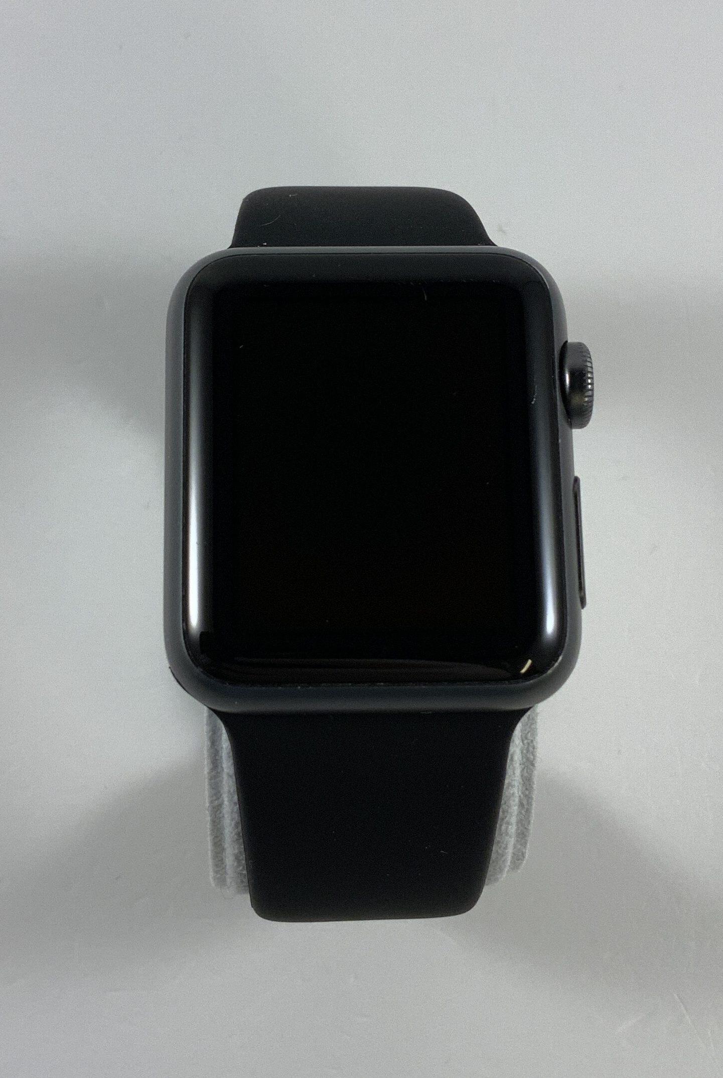 Watch Series 1 Aluminum (38mm), Space Gray, Black Sport Band, Kuva 1
