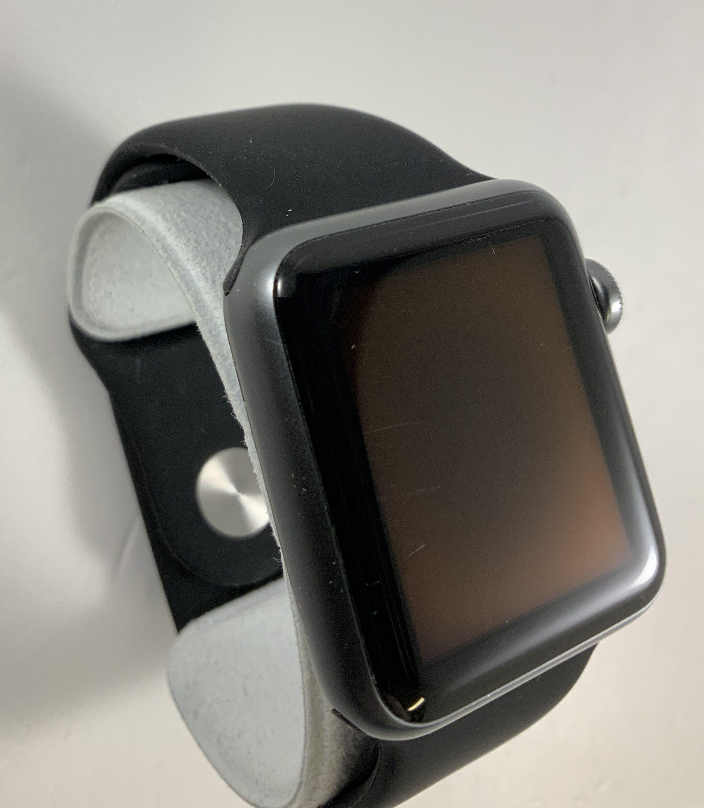 Watch Series 1 Aluminum (38mm), Space Gray, Black Sport Band, Kuva 3
