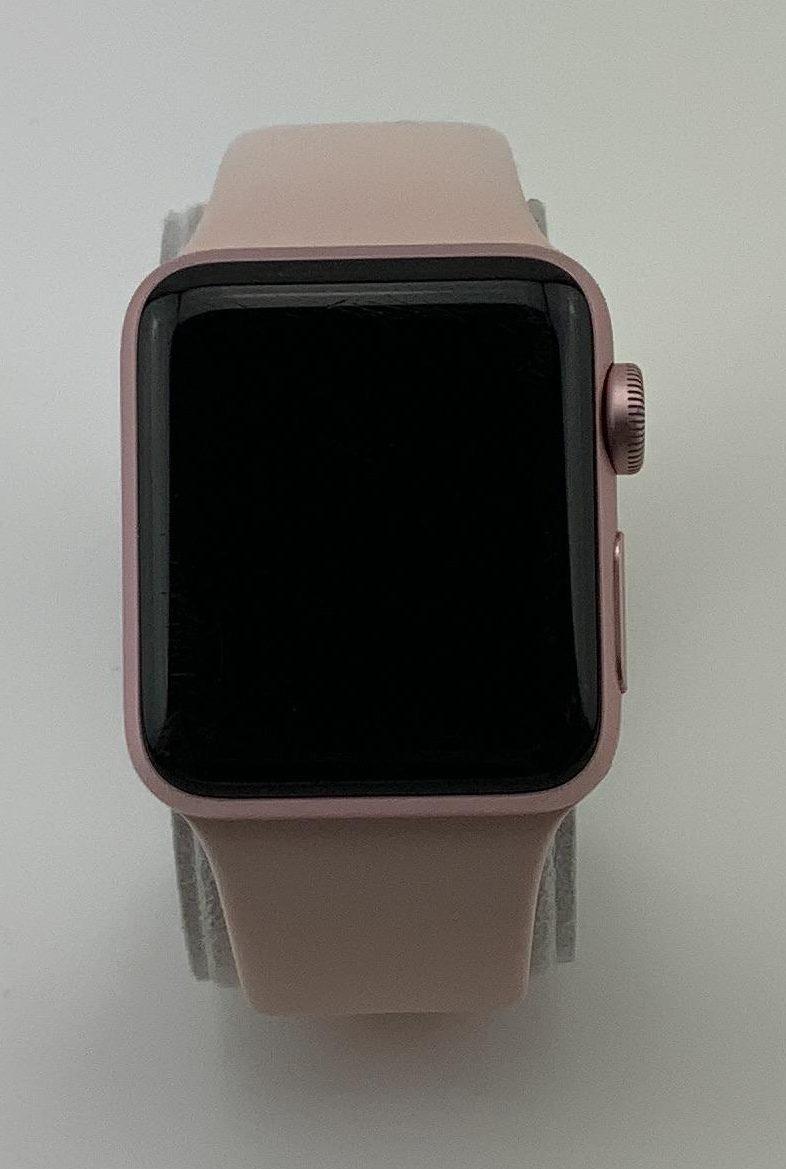 Watch Series 2 Aluminum (38mm), Rose Gold, Pink Sand Sport Band, Bild 2