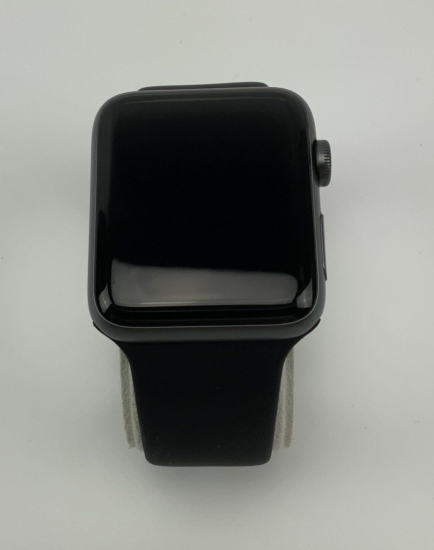 Watch Series 2 Aluminum (42mm), Space Gray, Black Sport Band, obraz 1