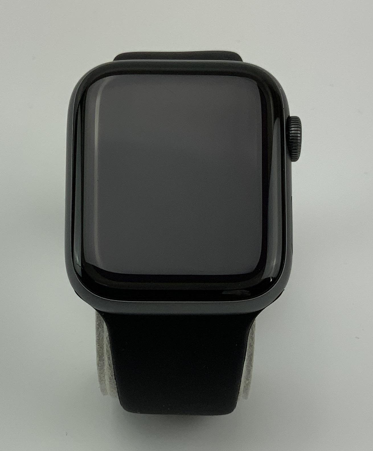 Watch Series 4 Aluminum (44mm), Space Gray, Black Sport Band, bild 1