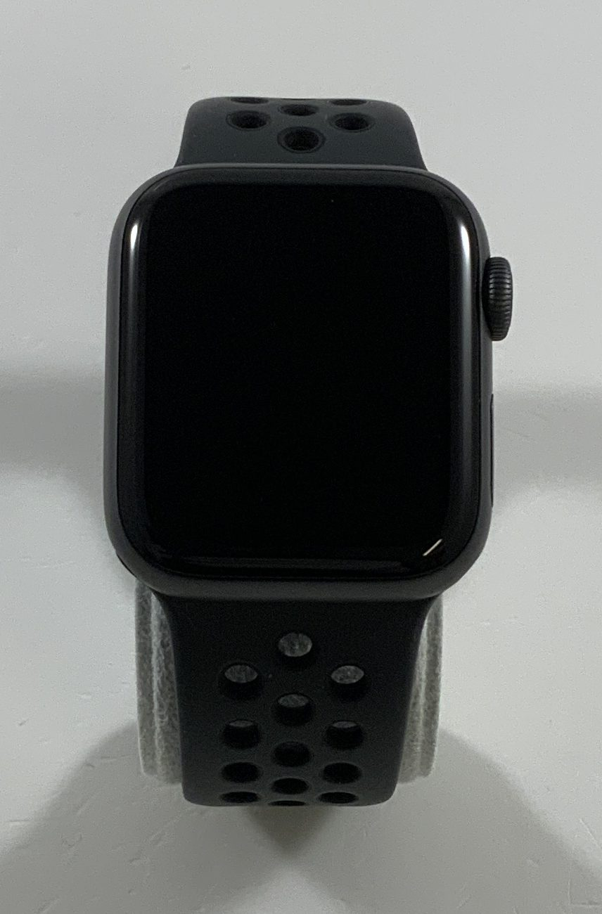 Watch Series 4 Aluminum Cellular (40mm), Space Gray, Anthracite/Black Nike Sport Band, bild 1