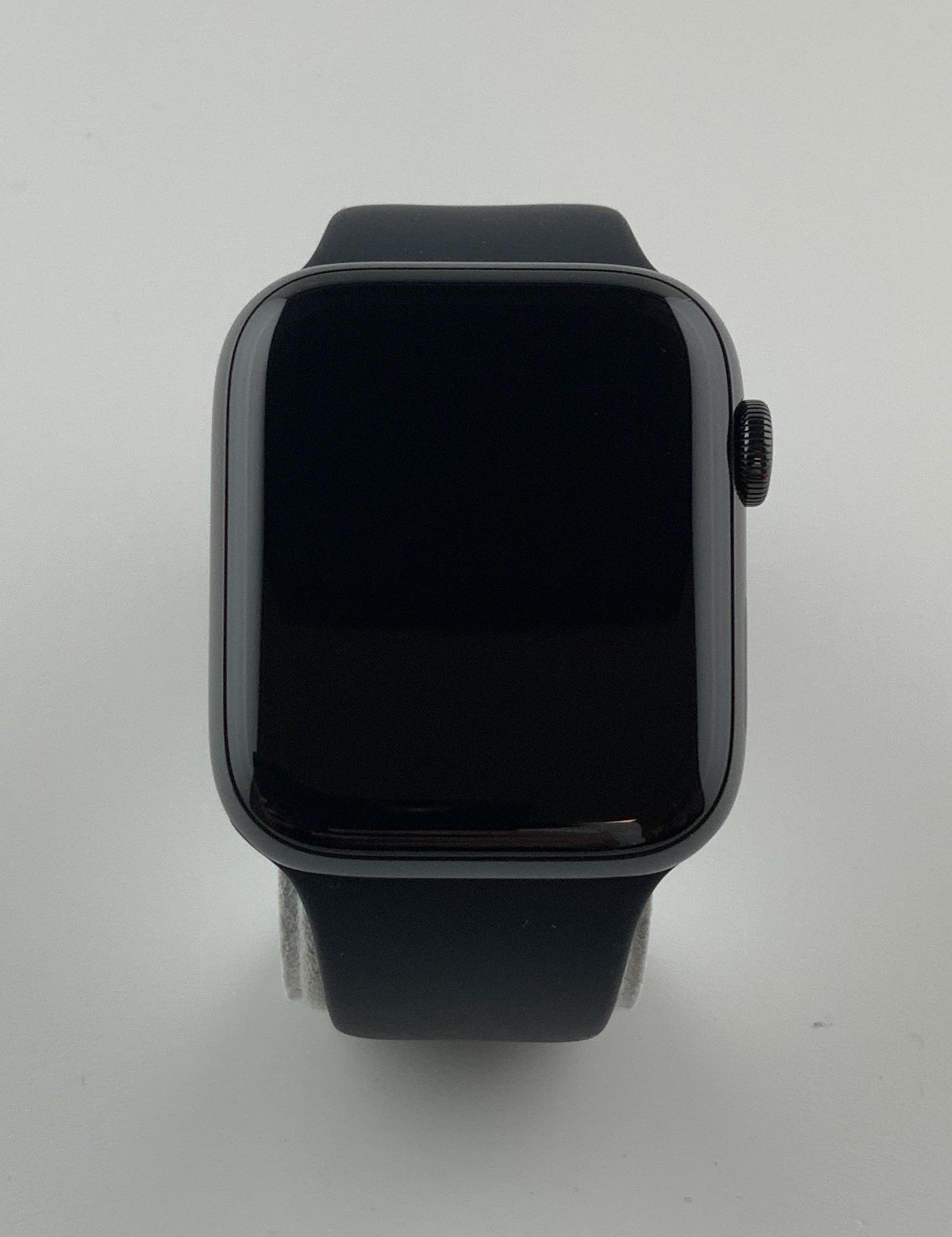 Watch Series 4 Steel Cellular (44mm), Space Black, Black Sport Band, Kuva 1