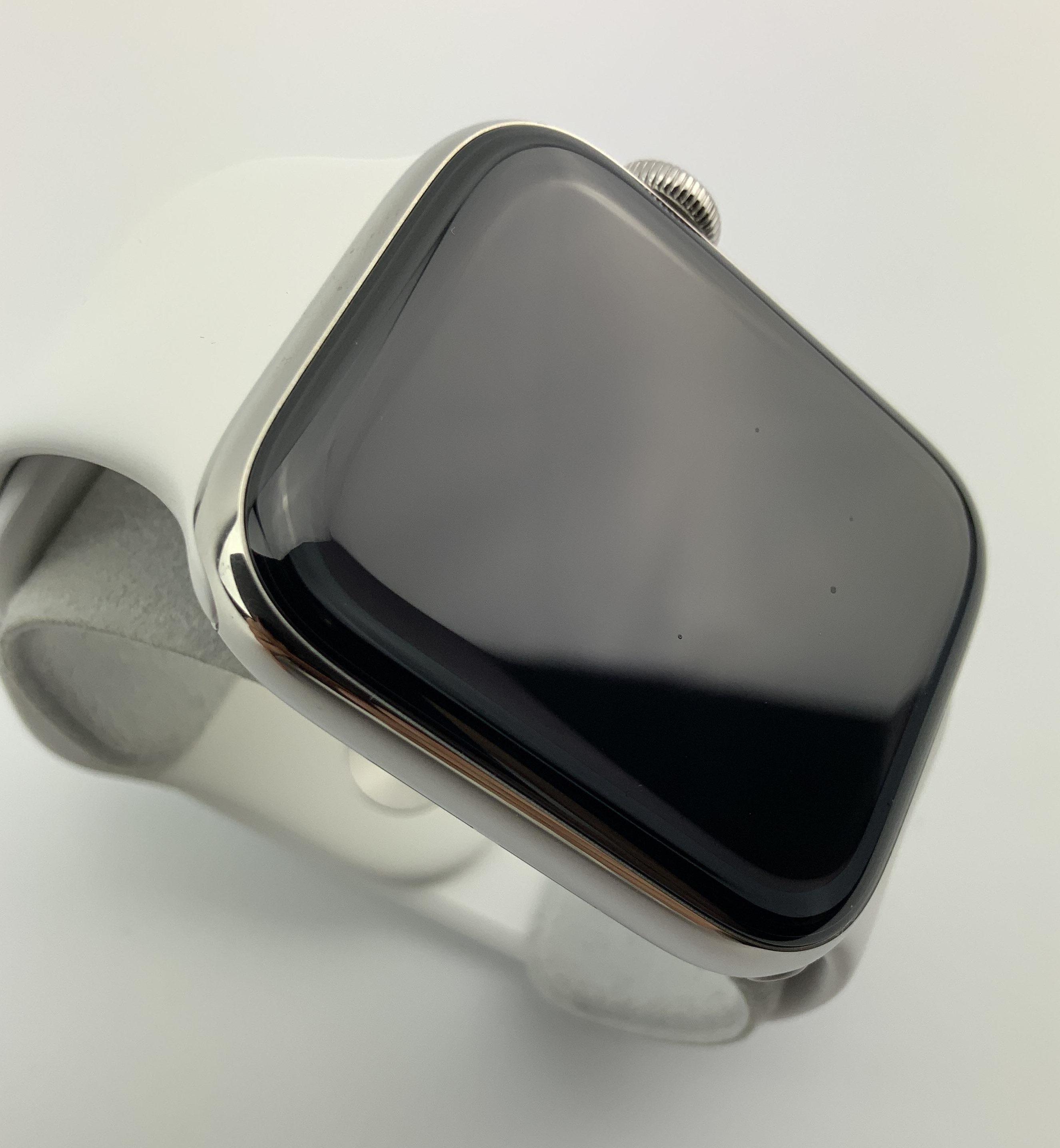Watch Series 5 Steel Cellular (44mm), Silver, Afbeelding 2