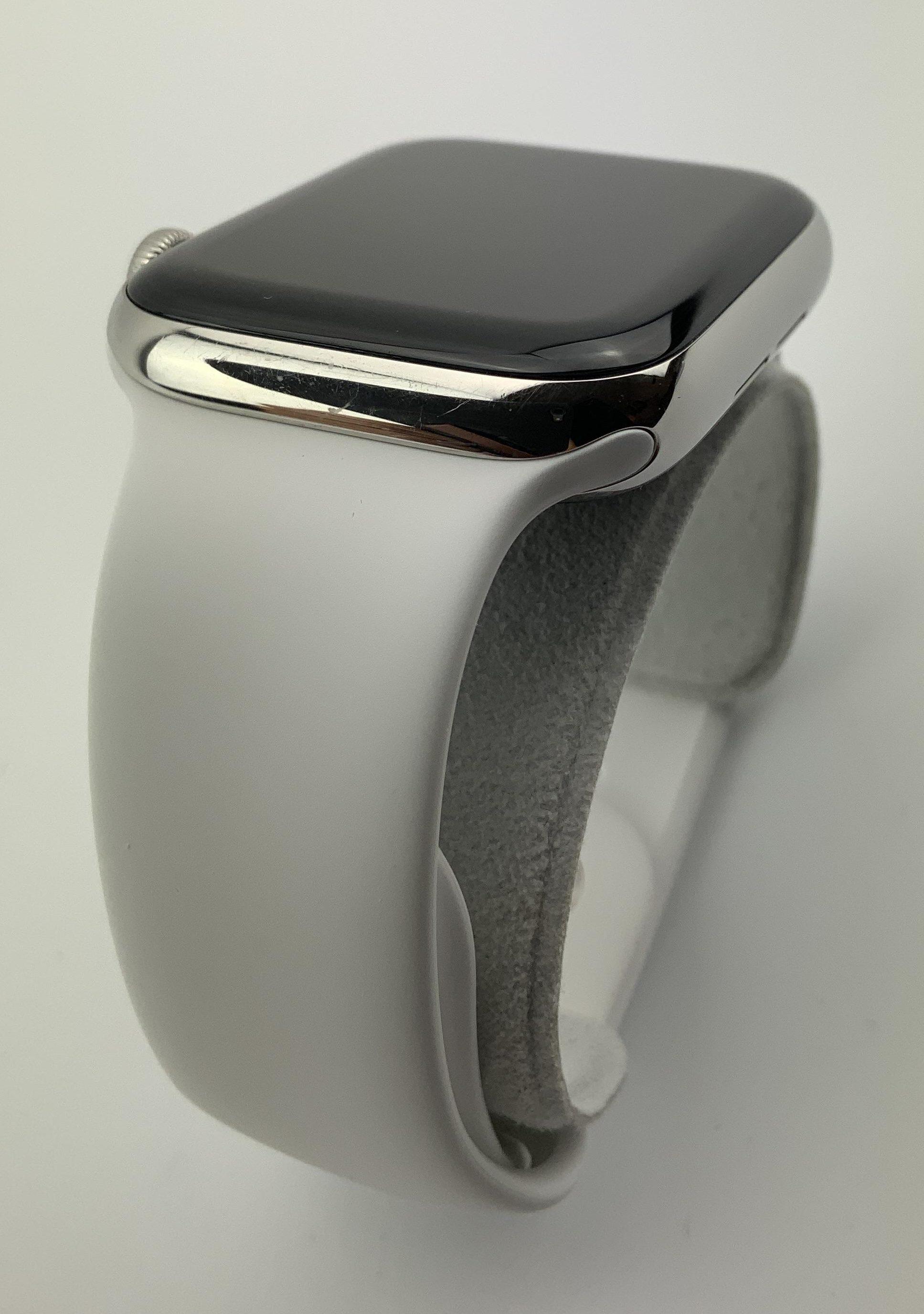 Watch Series 5 Steel Cellular (44mm), Silver, Afbeelding 4