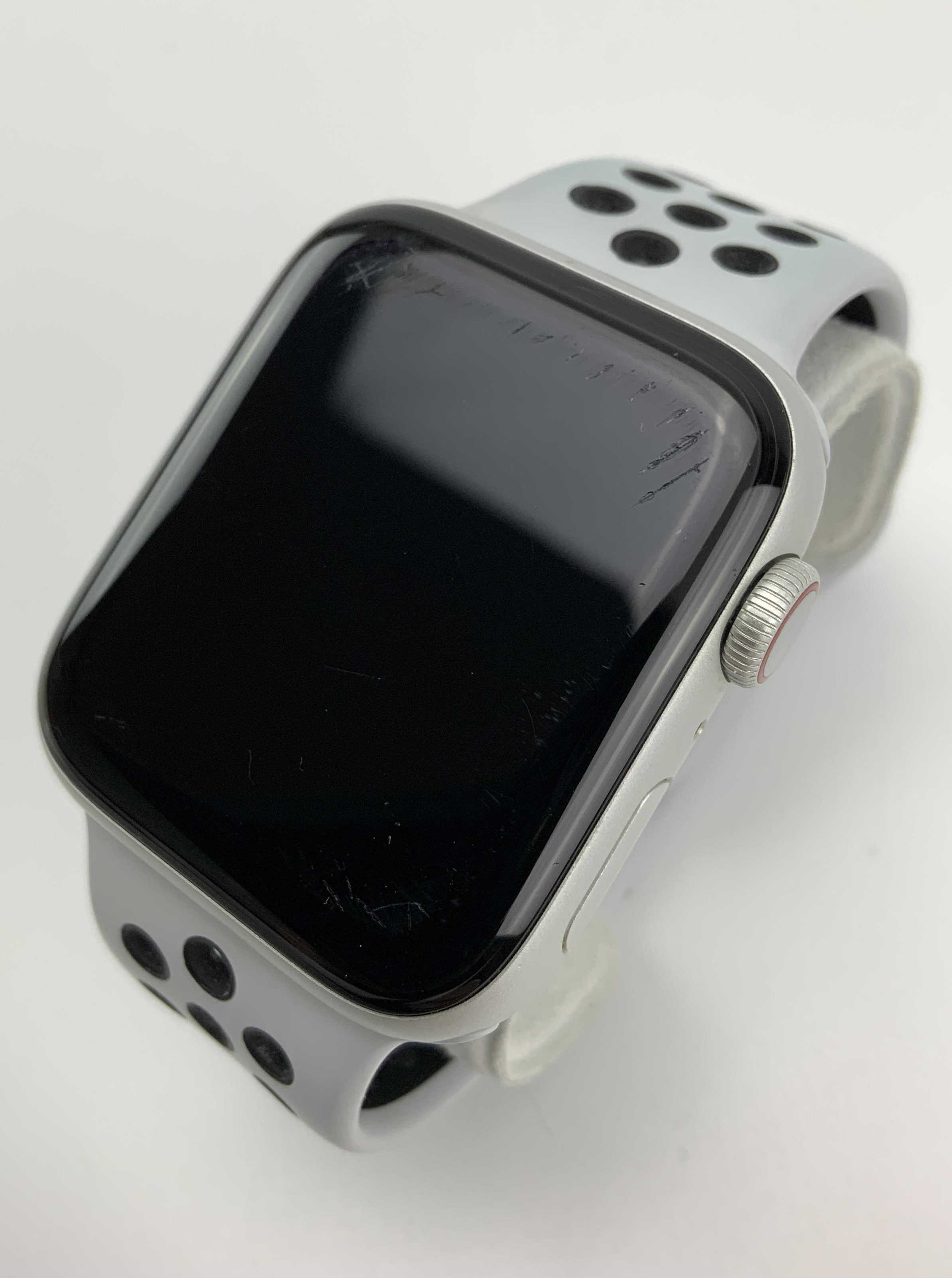 Watch Series 6 Aluminum Cellular (44mm), Silver, immagine 2